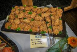 Schweinemedaillons mit Kräuterkruste