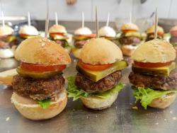 Produktion Mini-Hamburger