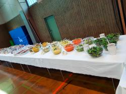 Salat- und Gemüsebuffet