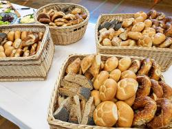 Buntes Partybrot der Bäckerei Huber