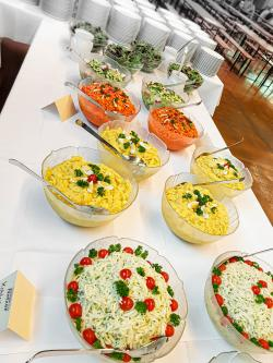 Buntes Salatbuffet